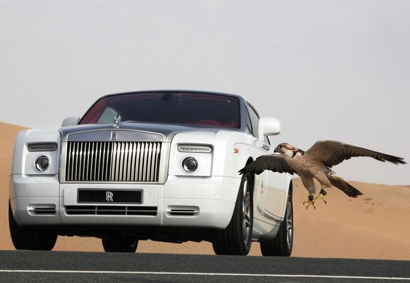Rolls-Royce Phantom: speciality pro Spojené arabské emiráty: - fotka 6