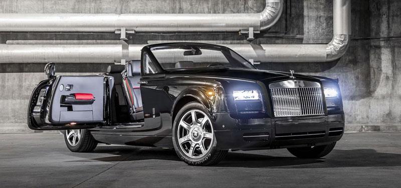 Rolls-Royce Phantom Drophead Coupe Nighthawk Bespoke: Karbonové šílenství: - fotka 2