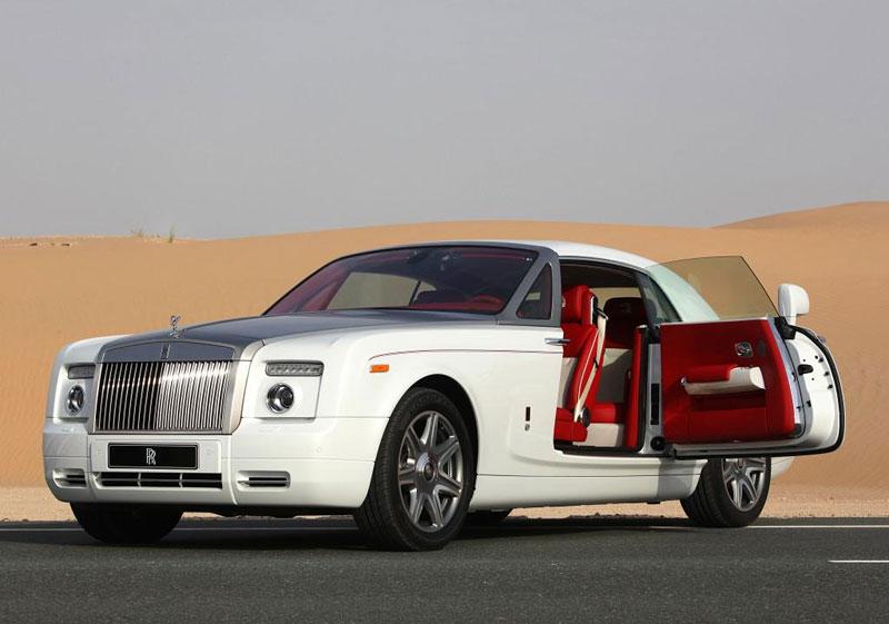 Rolls-Royce Phantom: speciality pro Spojené arabské emiráty: - fotka 8