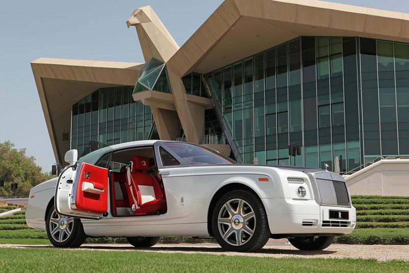 Rolls-Royce Phantom: speciality pro Spojené arabské emiráty: - fotka 9