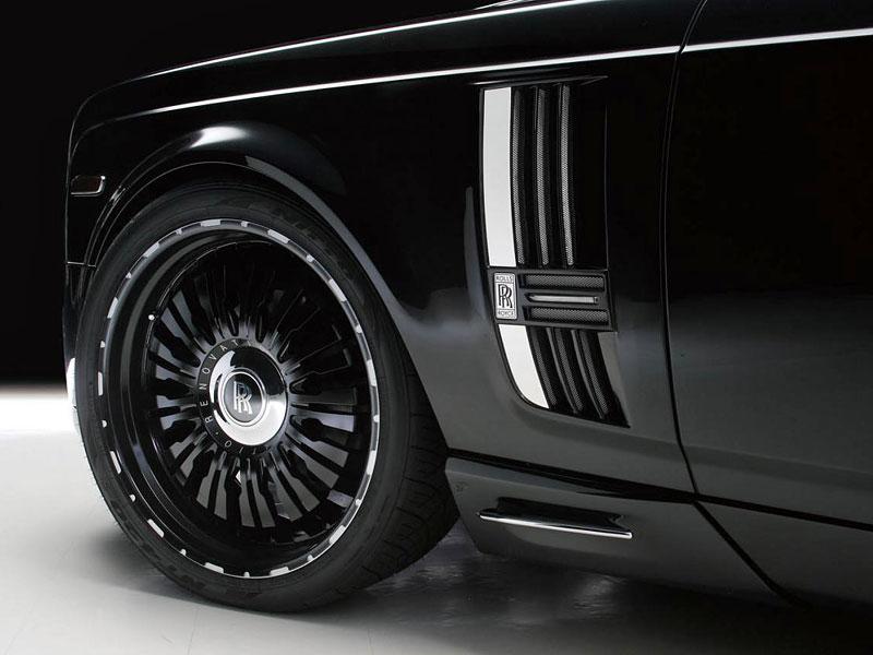 Rolls-Royce Phantom Wald International Sports Line Black Bison: krize středního věku: - fotka 14
