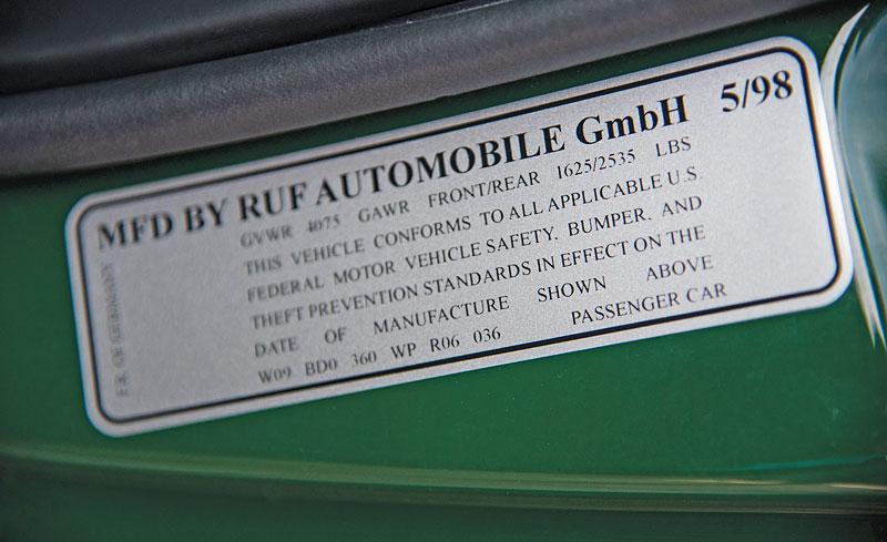 Znáte RUF Turbo R? Je to moderní bestie s duchem 90. let. Vzniklo jen 7 exemplářů: - fotka 23