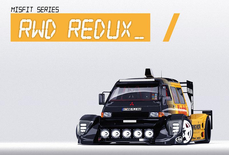 Šikula si vysnil dodávku s V10 uprostřed a závodním bodykitem. Jak se vám líbí?: - fotka 3