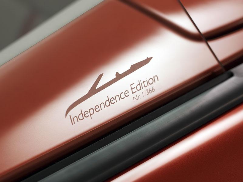 Saab 9-3 Cabriolet jako Independence Edition: oslava dne nezávislosti: - fotka 5