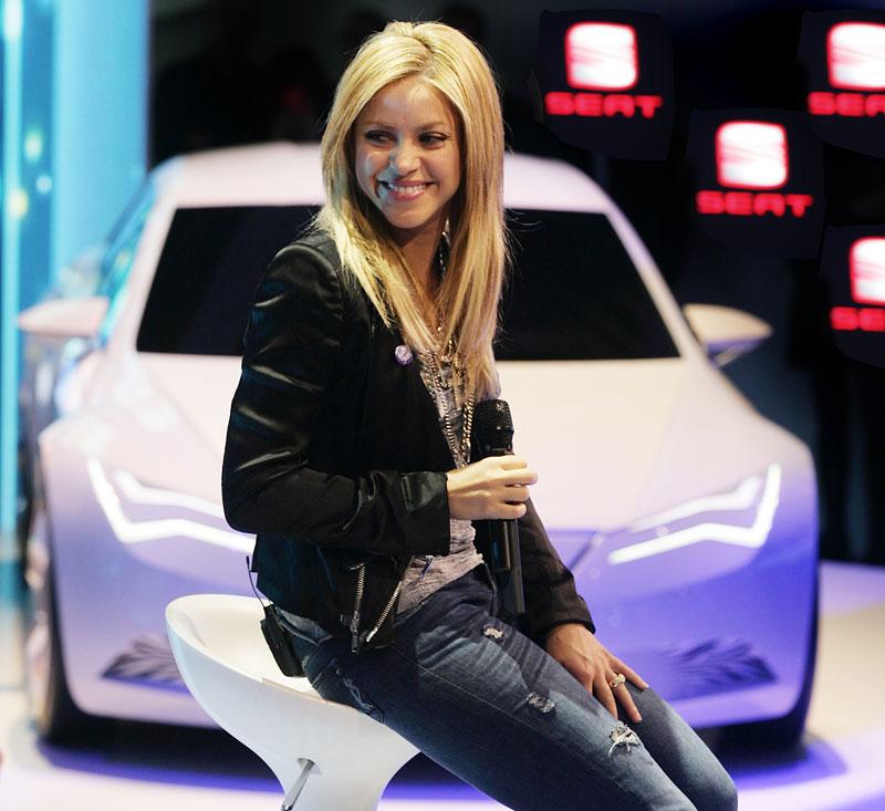 Největší hvězda na stánku Seatu: Shakira: - fotka 2