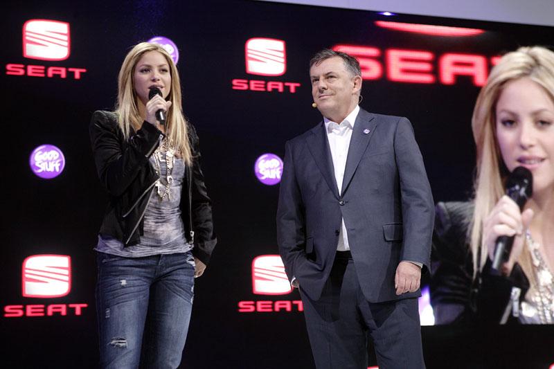 Největší hvězda na stánku Seatu: Shakira: - fotka 3