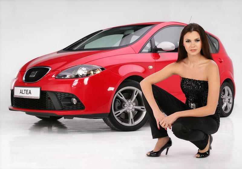 Miss Polska 2007 a Seat Altea (fotogalerie): - fotka 19