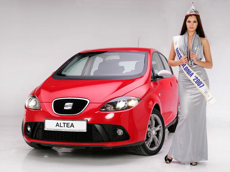 Miss Polska 2007 a Seat Altea (fotogalerie): - fotka 29