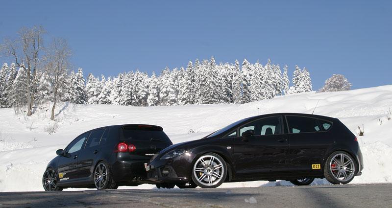 Leon Cupra a Golf GTI od O.CT Tuning: - fotka 5