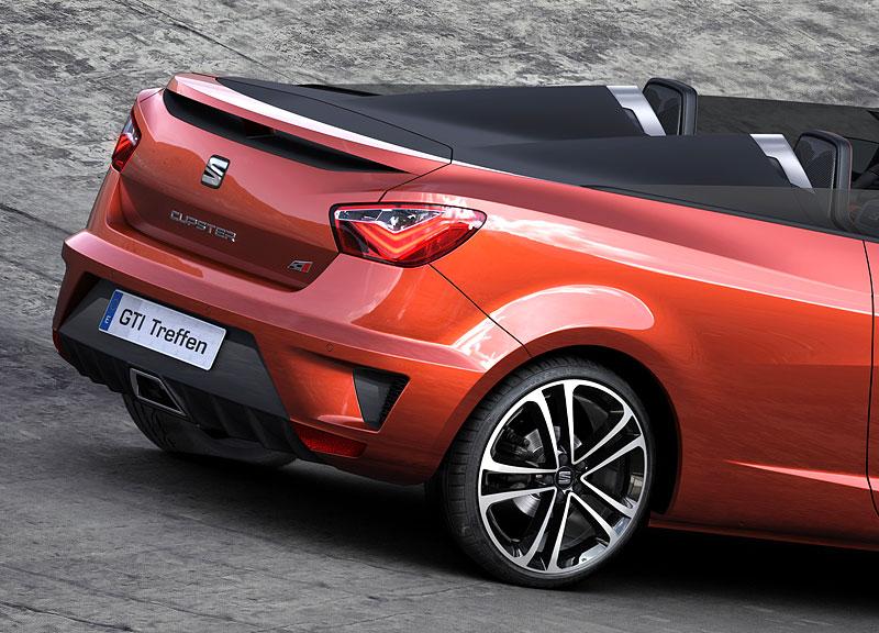 Seat Ibiza Cupster: Španělský speedster pro Wörthersee: - fotka 3