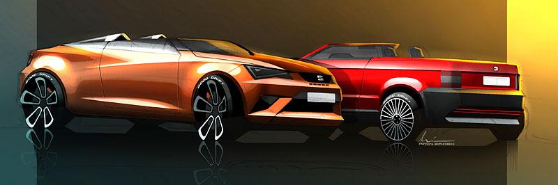 Seat Ibiza Cupster: Španělský speedster pro Wörthersee: - fotka 5