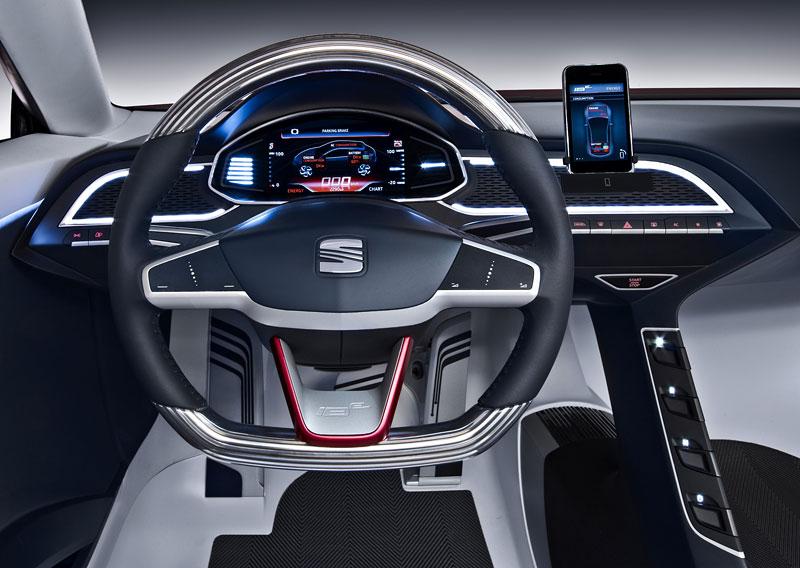 SEAT IBE: Evoluce studie sportovního elektromobilu: - fotka 3