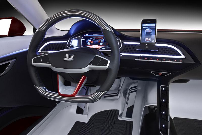 SEAT IBE: Evoluce studie sportovního elektromobilu: - fotka 4