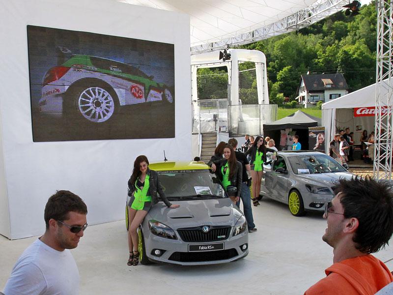 Škoda Octavia RS+ a Fabia RS+ na Wörthersee: - fotka 2