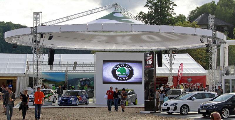 Škoda Octavia RS+ a Fabia RS+ na Wörthersee: - fotka 4