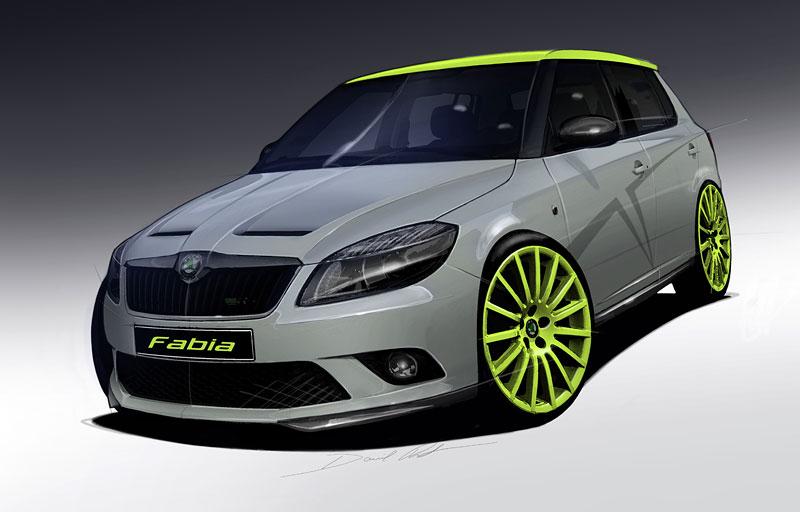 Škoda Octavia RS+ a Fabia RS+ na Wörthersee: - fotka 10