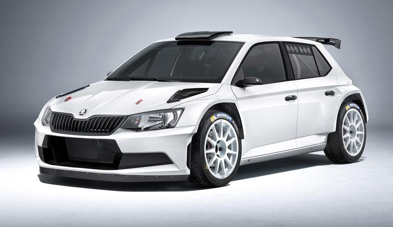 Rallyeová Škoda Fabia R 5 získala homologaci FIA: - fotka 1