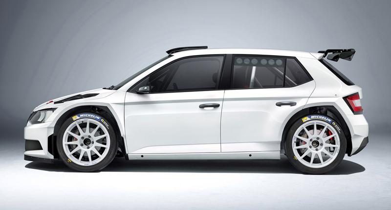 Rallyeová Škoda Fabia R 5 získala homologaci FIA: - fotka 2