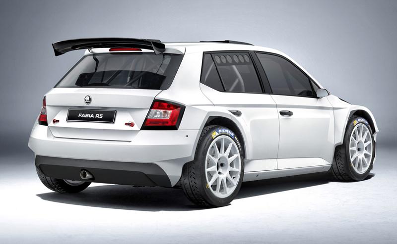 Rallyeová Škoda Fabia R 5 získala homologaci FIA: - fotka 3