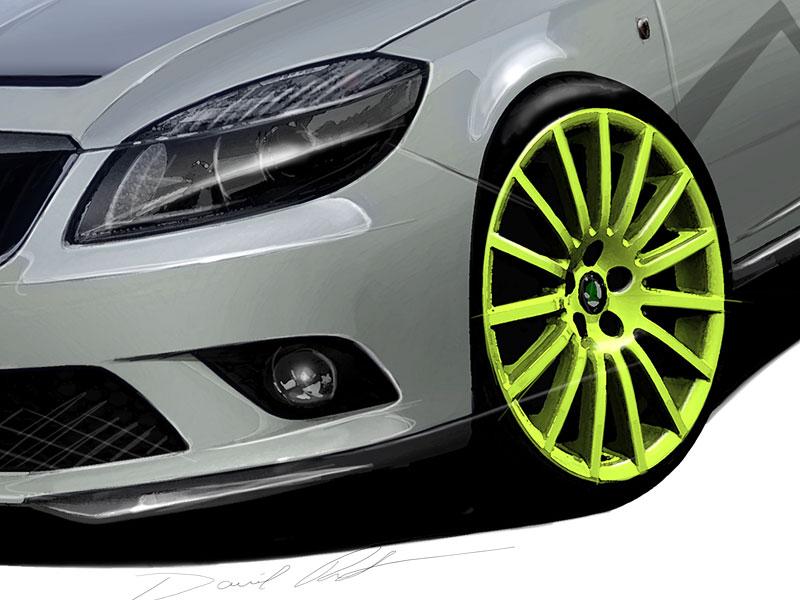 Škoda Fabia RS+: Britové dostanou ostřejší hot-hatch!: - fotka 9