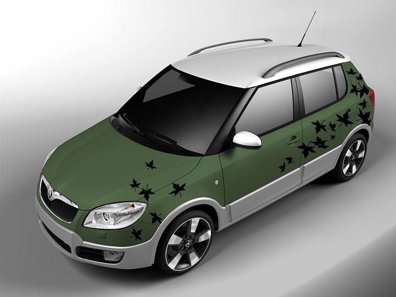 Autosalon Ženeva: Škoda Fabia Sports Design Concept: - fotka 15