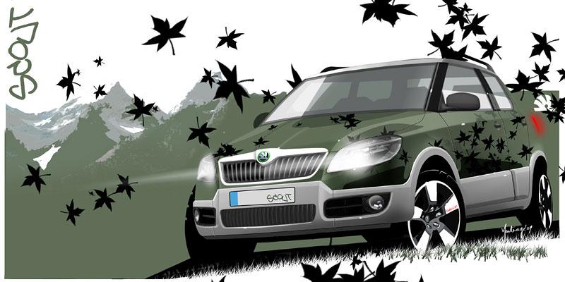 Autosalon Ženeva: Škoda Fabia Sports Design Concept: - fotka 16