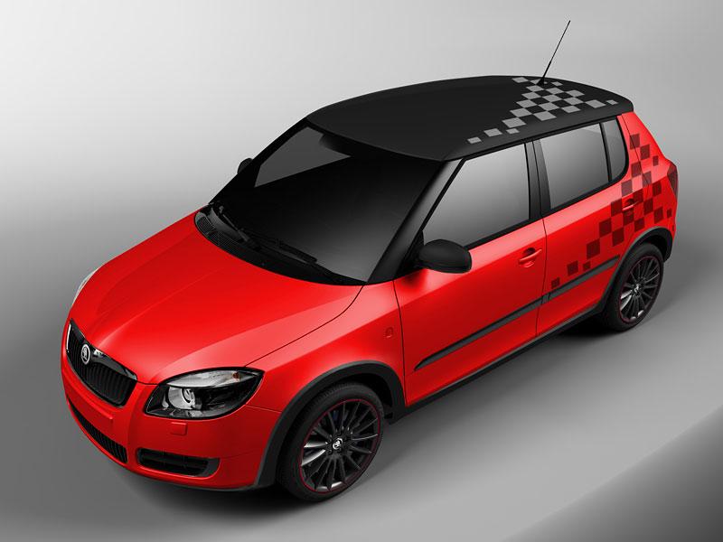 Autosalon Ženeva: Škoda Fabia Sports Design Concept: - fotka 19