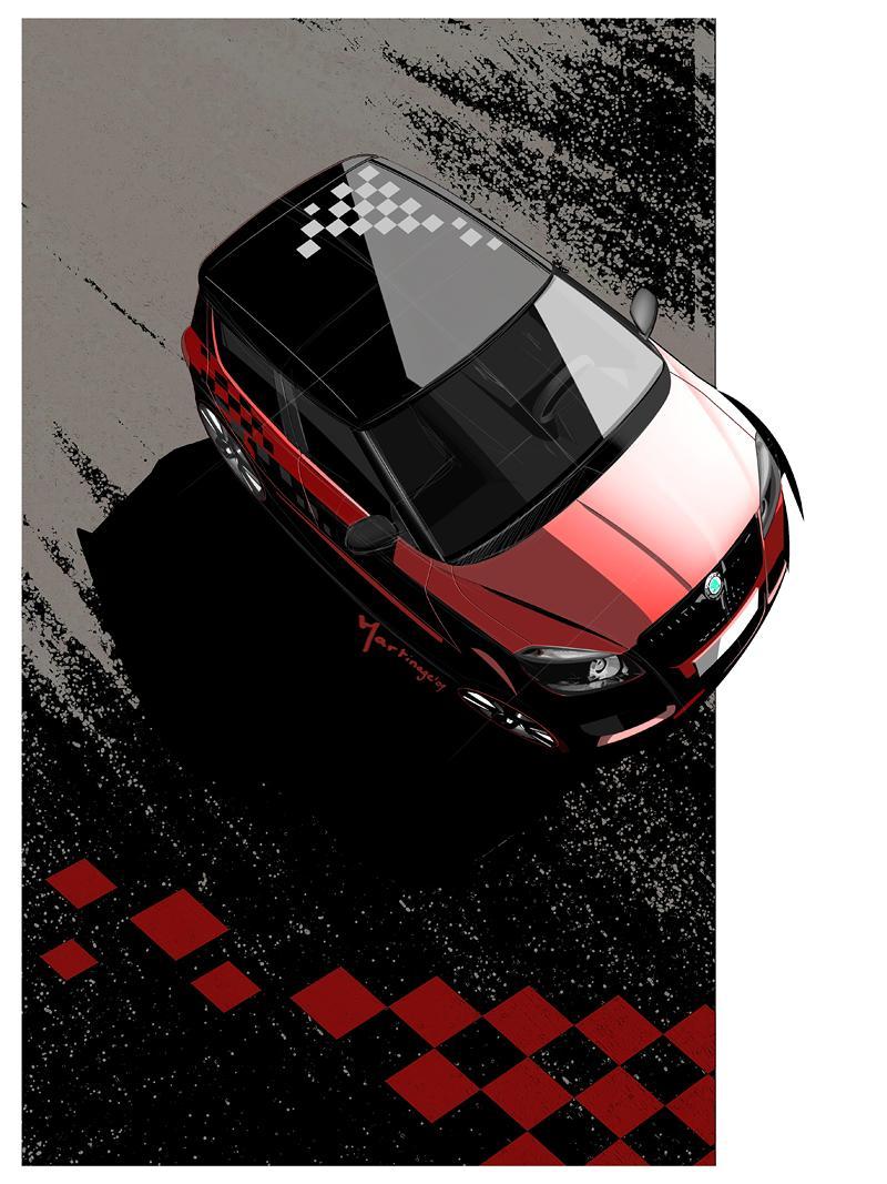 Autosalon Ženeva: Škoda Fabia Sports Design Concept: - fotka 20