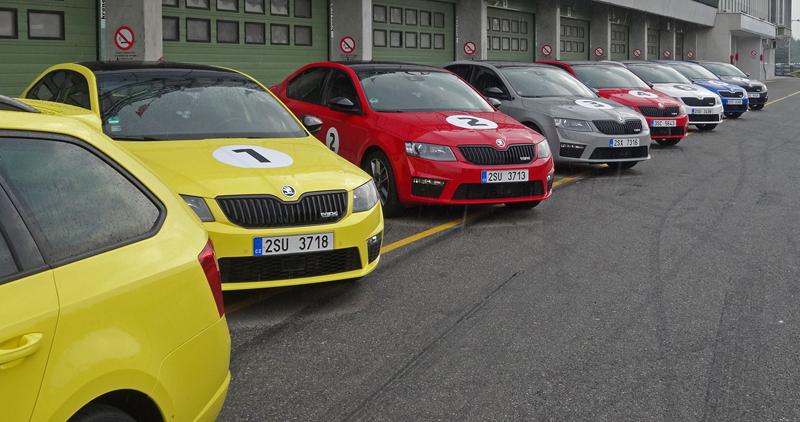 Reportáž: Se Škodou Octavia RS na Masarykově okruhu: - fotka 45