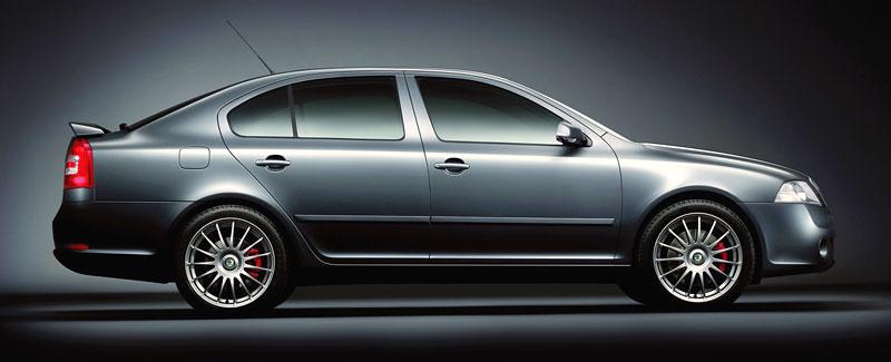 Škoda Octavia RS - limitka pro Spojené království: - fotka 4