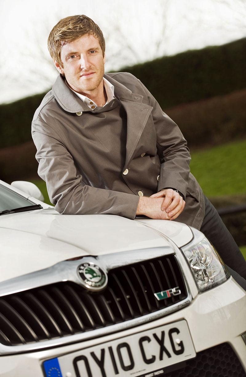 Škoda Octavia RS pro Guye Wilkse: - fotka 2