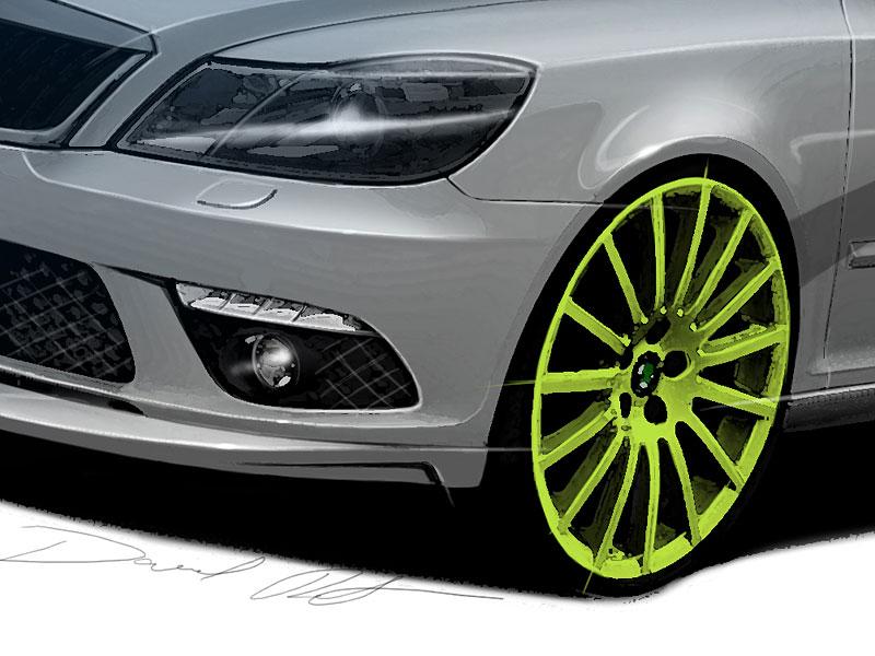 Škoda Octavia RS+ a Fabia RS+ na Wörthersee: - fotka 13