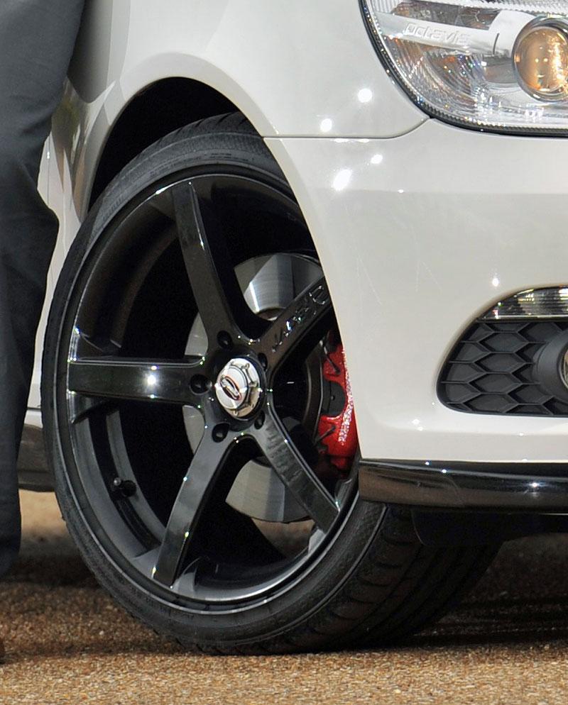 Škoda Octavia RS pro Guye Wilkse: - fotka 3