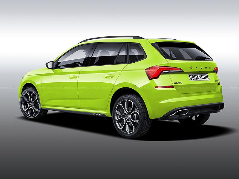 Takhle by mohla vypadat Škoda Kamiq RS. Jak se vám líbí?: - fotka 2