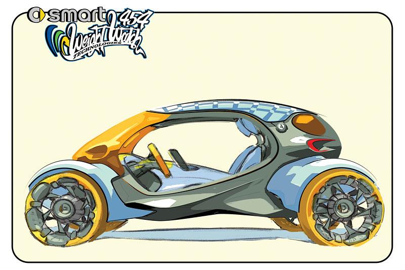 L.A. Design Challenge: 1000 lb car: - fotka 56