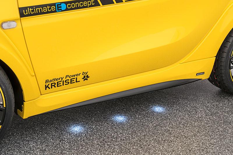 Brabus Ultimate E Concept: Elektrický Smart ForTwo s výkonem 201 koní!: - fotka 14