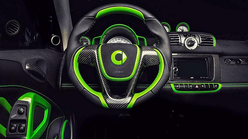 Smart Brabus Cabrio by Vilner: Škoda, že není větší: - fotka 3