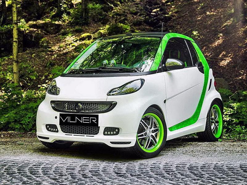 Smart Brabus Cabrio by Vilner: Škoda, že není větší: - fotka 9