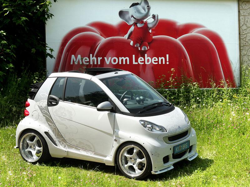 Smart Fortwo Koenigseder - nasupený trpaslík: - fotka 4