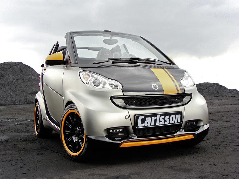 Carlsson: Smart C25 jako doplňek k vytuněnému SL65? Proč ne!: - fotka 4