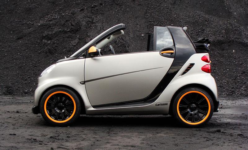 Carlsson: Smart C25 jako doplňek k vytuněnému SL65? Proč ne!: - fotka 5