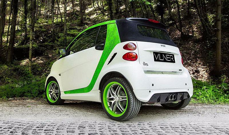 Smart Brabus Cabrio by Vilner: Škoda, že není větší: - fotka 10