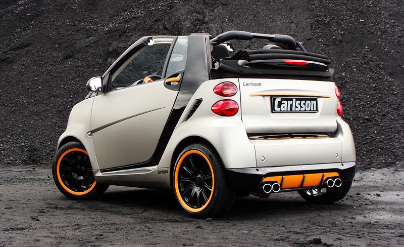 Carlsson: Smart C25 jako doplňek k vytuněnému SL65? Proč ne!: - fotka 7