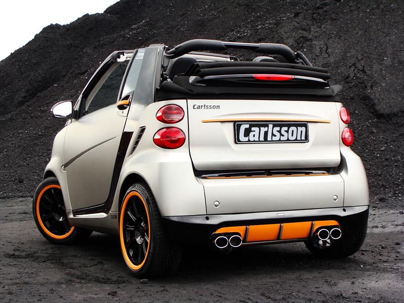 Carlsson: Smart C25 jako doplňek k vytuněnému SL65? Proč ne!: - fotka 8
