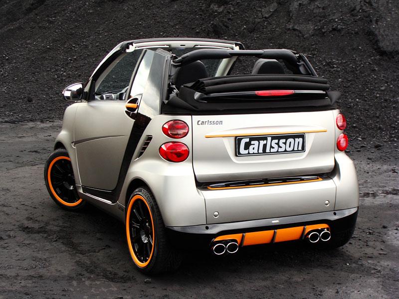 Carlsson: Smart C25 jako doplňek k vytuněnému SL65? Proč ne!: - fotka 9