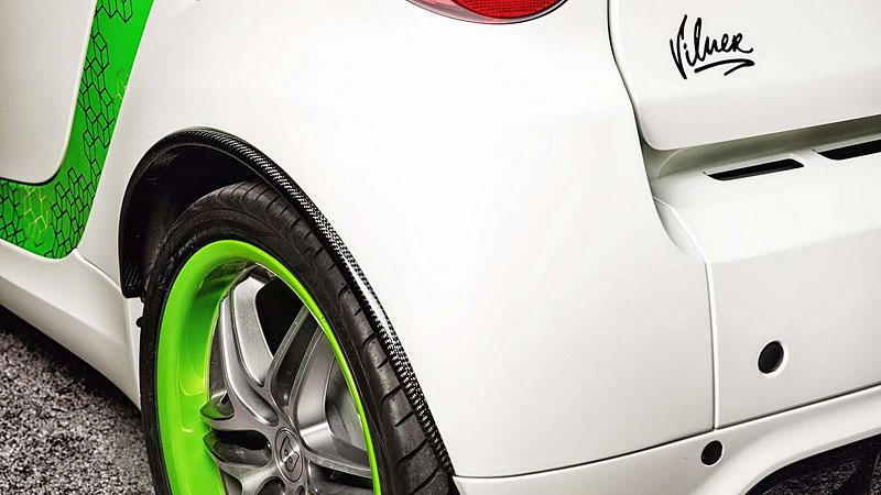 Smart Brabus Cabrio by Vilner: Škoda, že není větší: - fotka 13