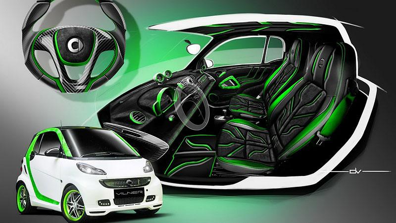 Smart Brabus Cabrio by Vilner: Škoda, že není větší: - fotka 14
