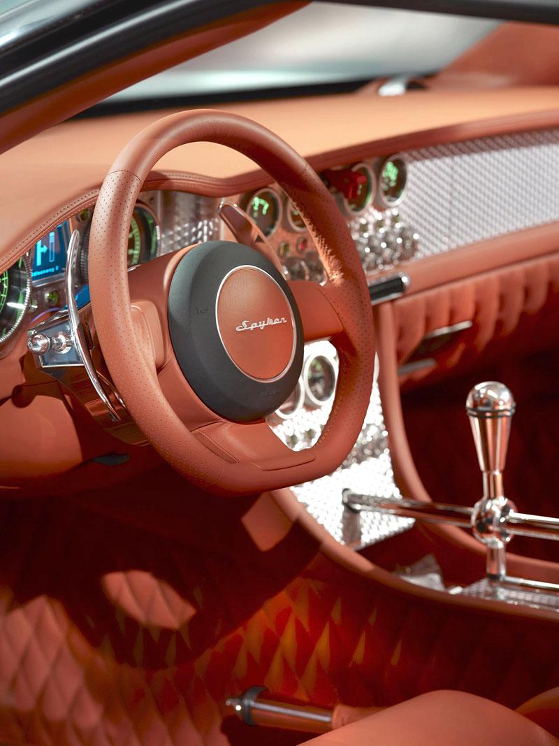 Autosalon Ženeva: Spyker C8 Aileron: - fotka 21