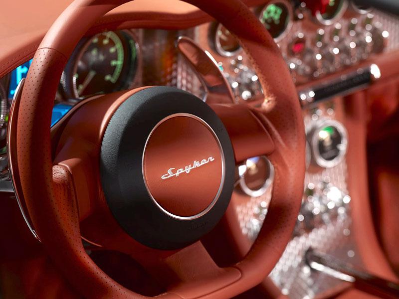 Autosalon Ženeva: Spyker C8 Aileron: - fotka 22