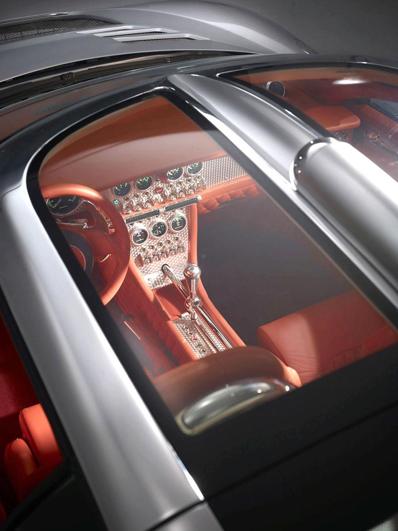 Autosalon Ženeva: Spyker C8 Aileron: - fotka 23